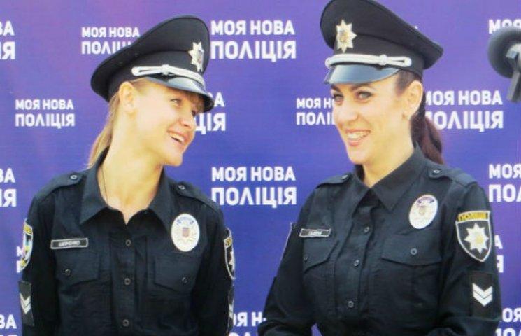 Кожна третя заявка в нову поліцію Полтави - від дівчини