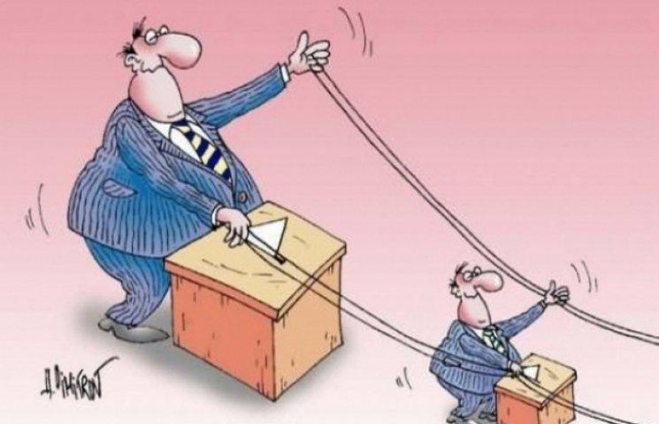 """На Хмельниччині 100% голів РДА, що йдуть до облради, є висуванцями """"партії Президента"""""""