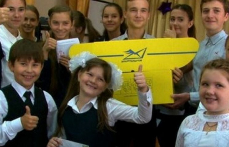 Одеські школярі підготували бійцям АТО листи