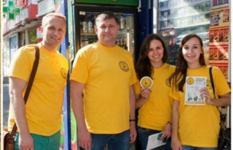 Волонтери на Хмельниччині нагадали про недопустимість продажу алкоголю дітям
