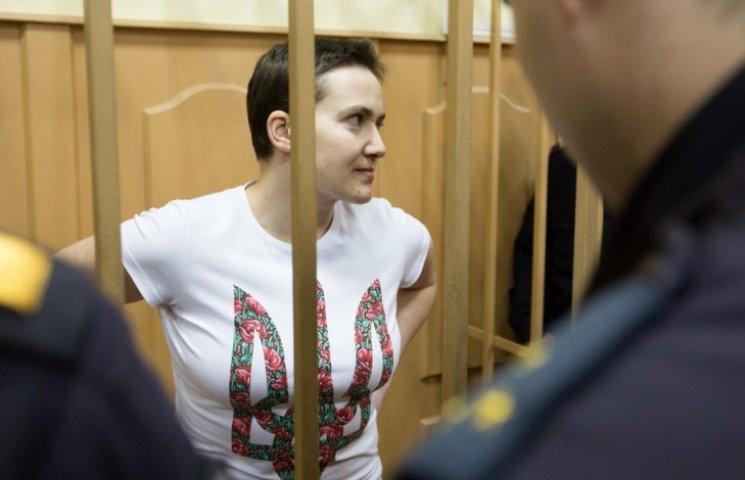 """Савченко в суді посварилася з бойовиком """"ЛНР"""" (ОНОВЛЕНО)"""