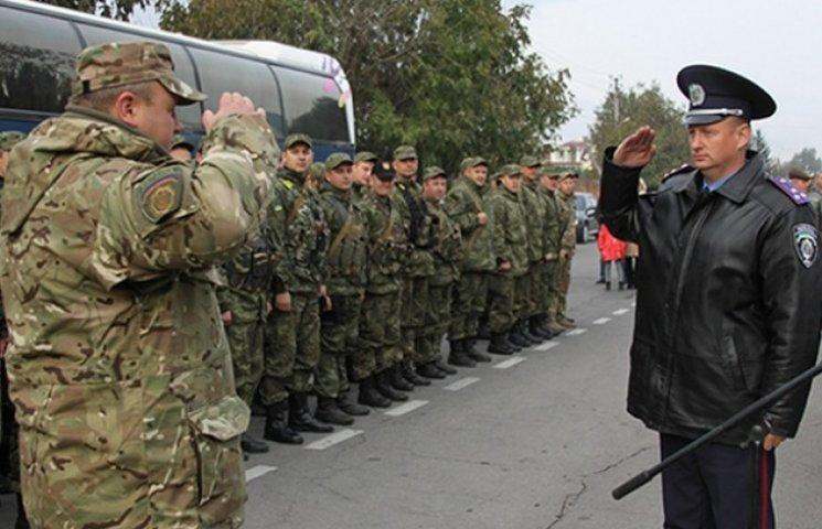 80 вінницьких правоохоронців повернулись із зони АТО
