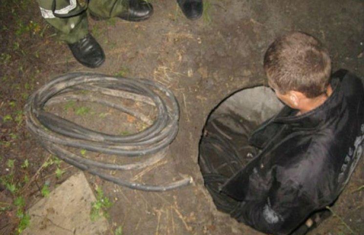 У Кременчуці затримано викрадача кабелю