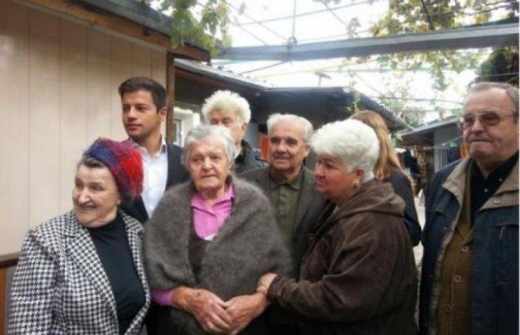 Довгожителі Одеси відсвяткували свої ювілеї