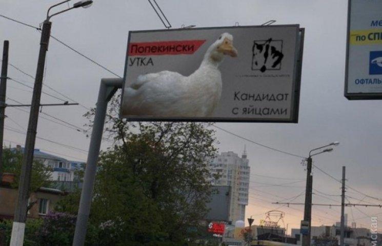 На пост мера в Одесі балотується Качка Попекінські