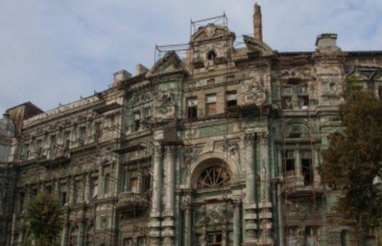 Буревій нагадав одеситам про втрачену перлину архітектури