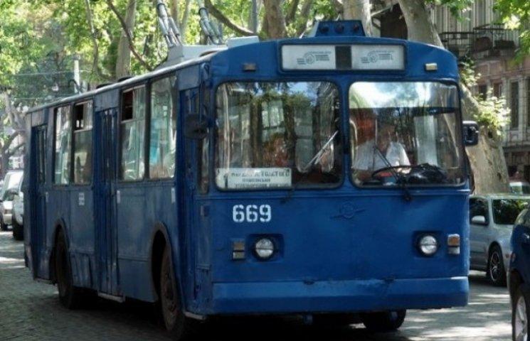 Нові тролейбуси Одесі коштуватимуть 12 років розрахунку з банком