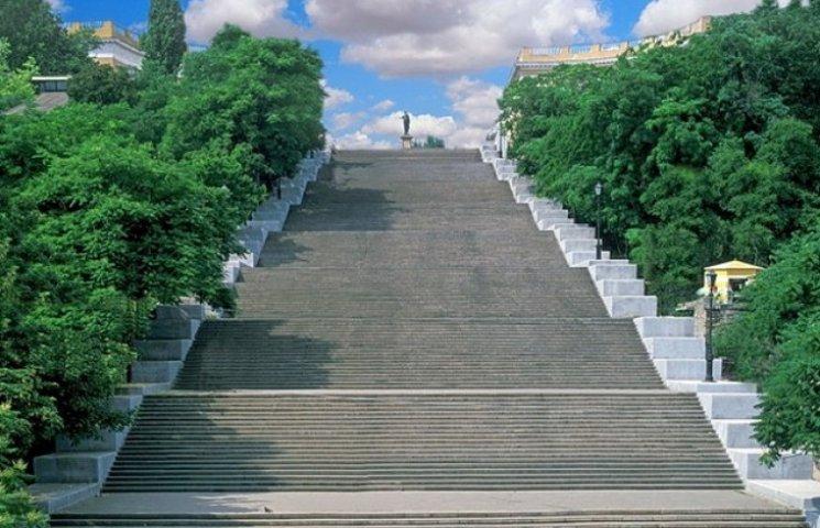 Потьомкінські сходи в Одесі відреставрують