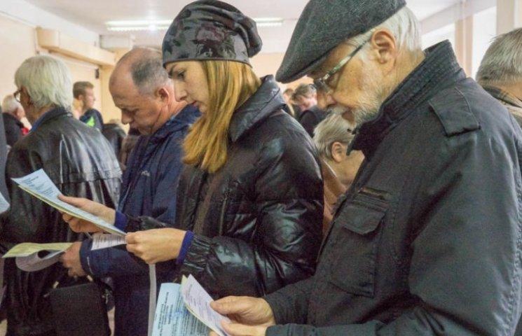 Лише 5 районів Одещини продемонстрували явку вище 40%