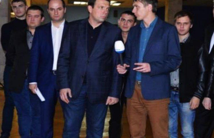 """Одеський """"Опоблок"""" звинуватив Саакашвілі і Труханова у фальсифікаціях"""