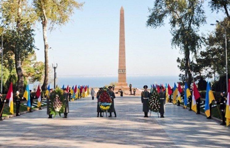 В Одесі відзначили 71-у річницю визволення України від фашистів