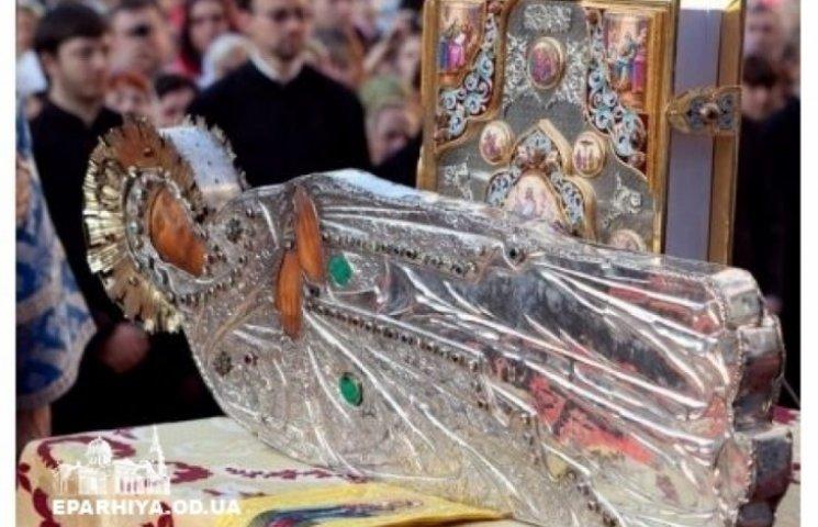 Чудотворний образ Плащаниці Божої Матері - прибуде до Одеси 14 листопада