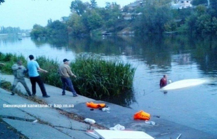 У Вінниці сталася корабельна аварія