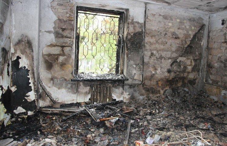 Миколаївська влада пообіцяла надати погорільцям з гуртожитку житло