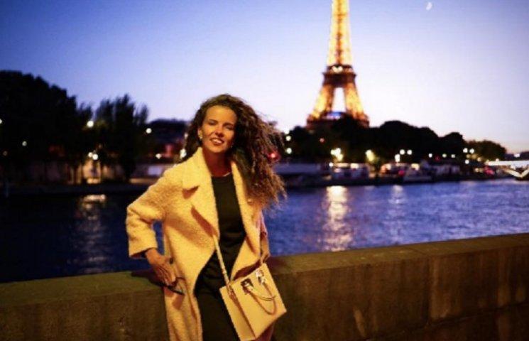 Цимбалюк нарешті показала доньку у Парижі