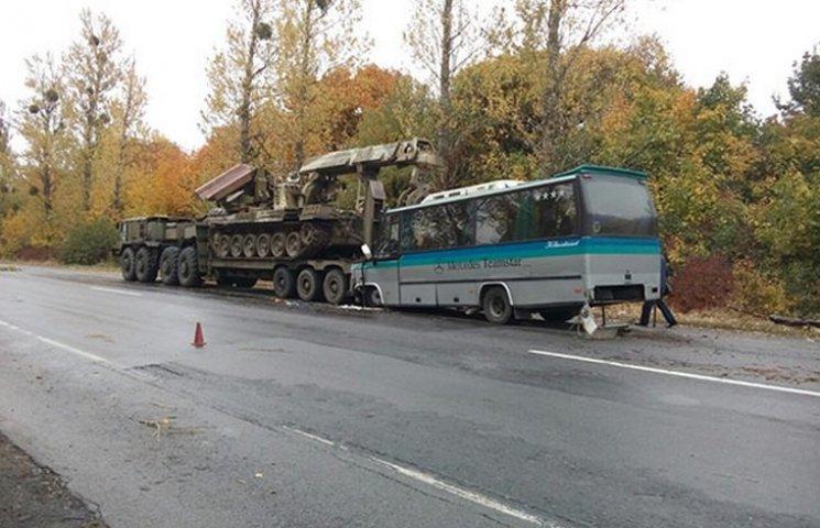 Івано-Франківський автобус з пасажирами в