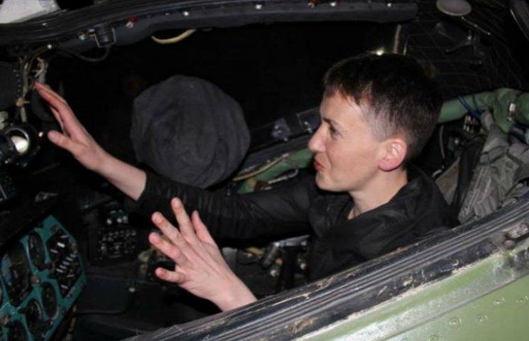 """Савченко рассказала, зачем кружляла вокруг """"ДНР"""""""