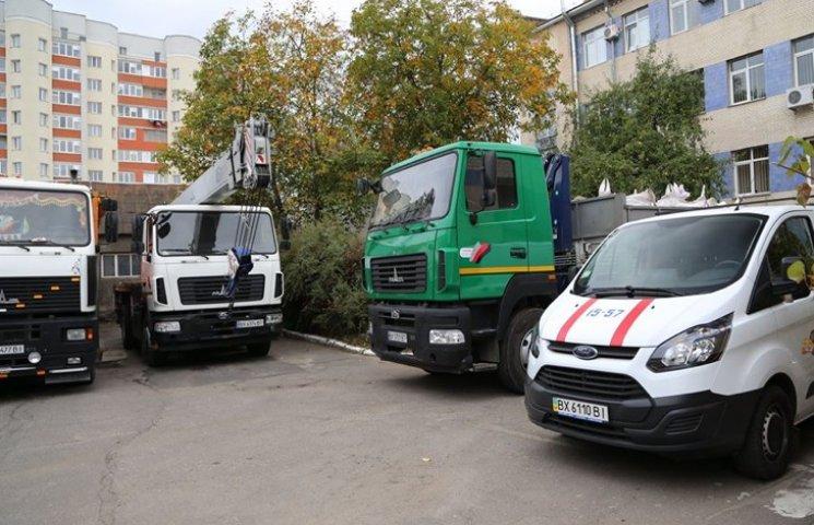 В Хмельницькому на оновлення комунальної техніки виділили 40 мільйонів гривень