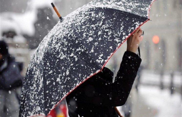 Вже завтра у Хмельницькому пролітатиме перший сніг