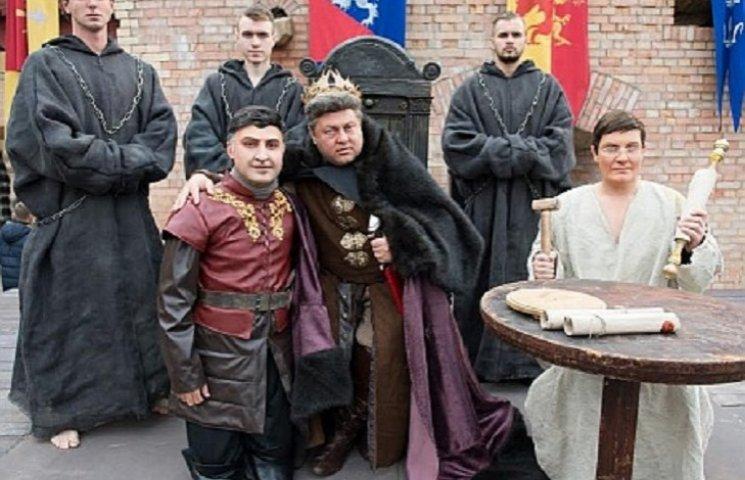 """Король Порошіон та Лорд Аваков: """"Квартал"""" зняв пародію на """"Гру престолів"""""""