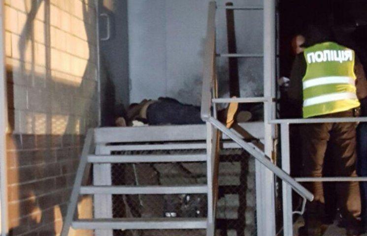 У Києві чоловік підірвав себе гранатою