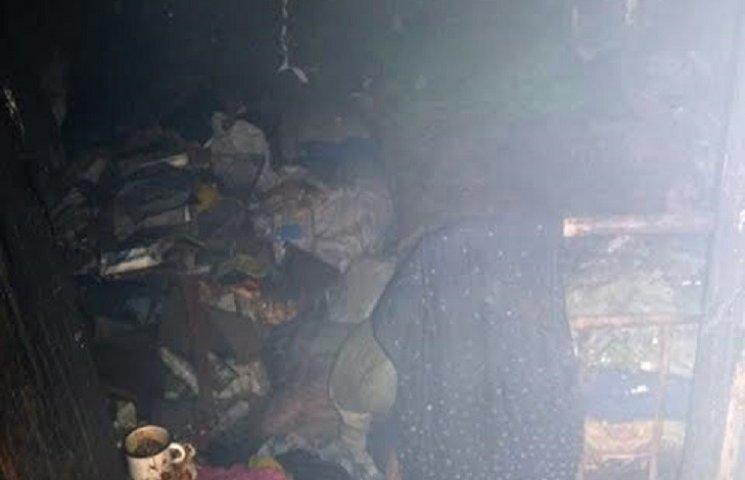 На Миколаївщині пожежники врятували жінку з вогню
