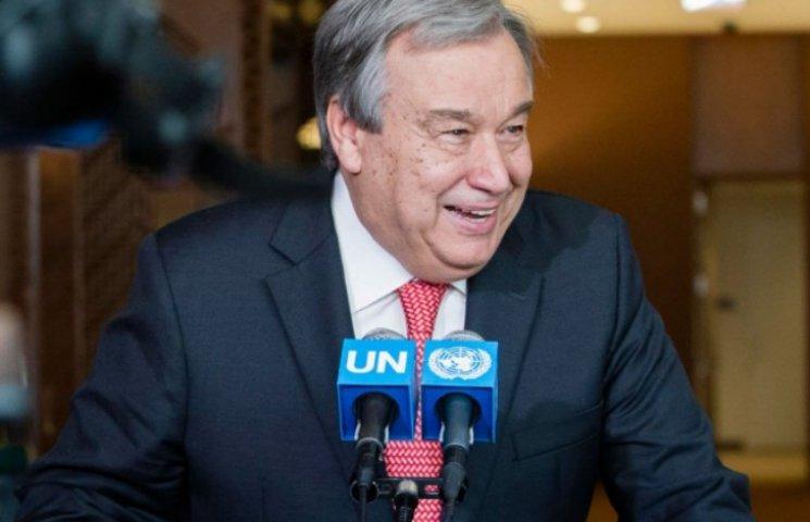 Екс-прем`єр Португалії офіційно очолив ООН