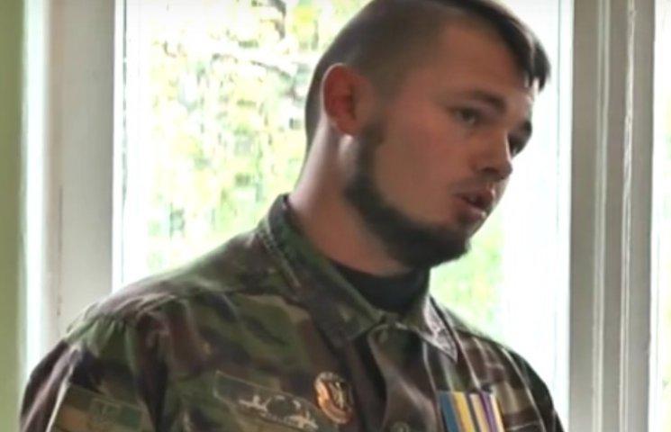Полтавські учні зустрілися з снайпером-АТОвцем