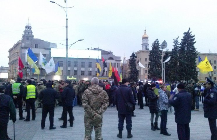 В Харькове – шествие патриотов