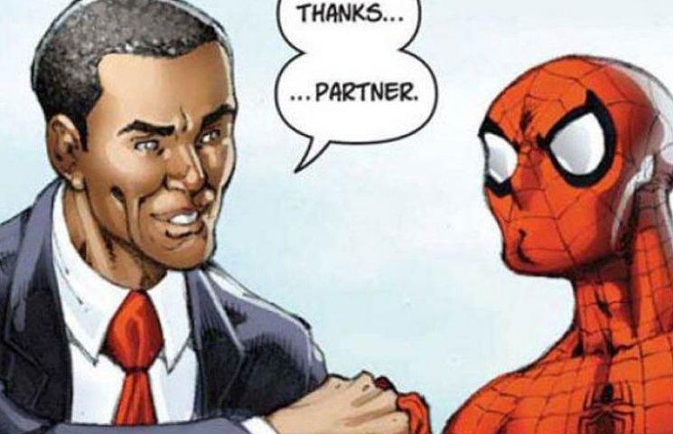 """Как Путин уничтожал человечество, а Обама с """"пауком"""" встречался"""