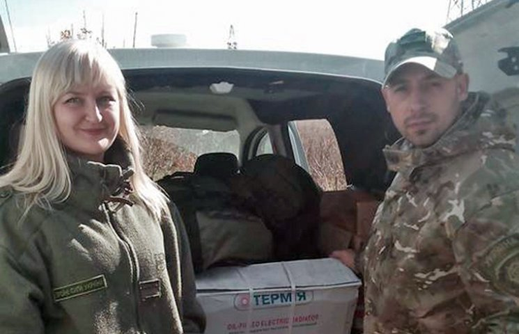 Харківські волонтери доставили гуманітарну допомогу на позиції 92-ї ОМБр