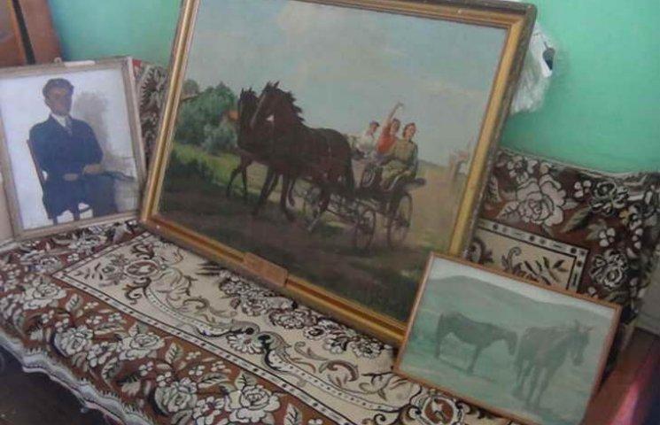 Шість картин Людвіга Годлевського зникли з будинку його онуки у вересні цього року. Вартість колекції оцінюється в 110 тис. грн.