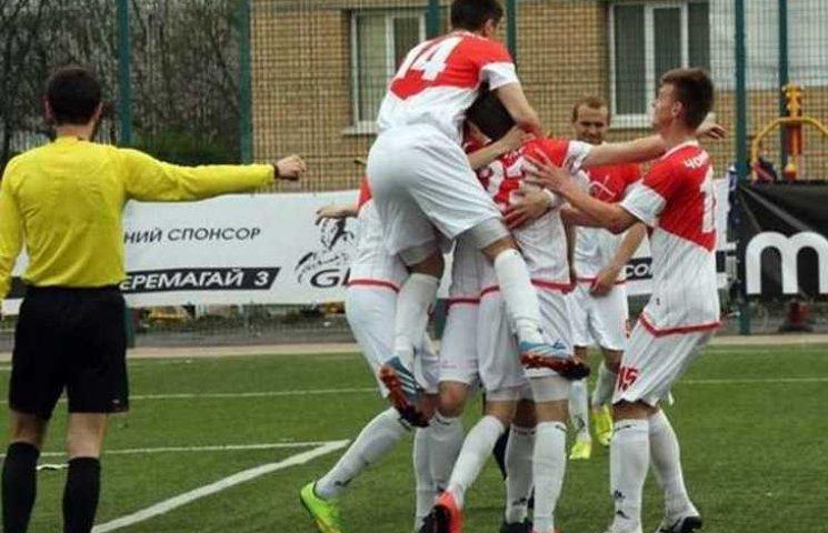 """Вінницька """"Нива-В"""" програла аутсайдеру Другої ліги"""