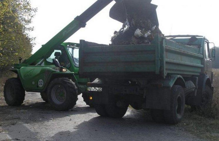 Під Вінницею виявлено нове стихійне сміттєзвалище