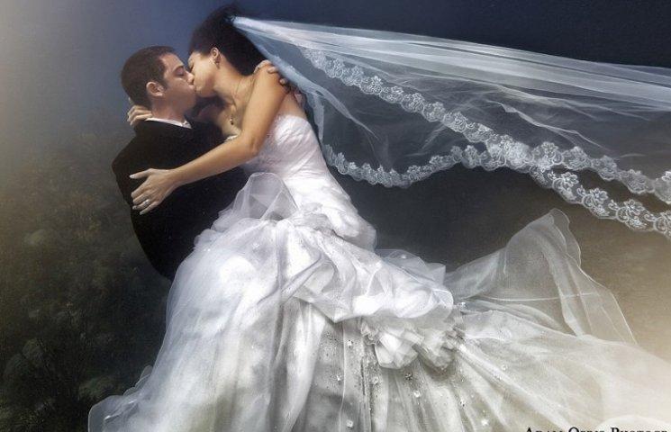Невероятные свадебные фото под водой, из-за которых хочется затаить дыхание