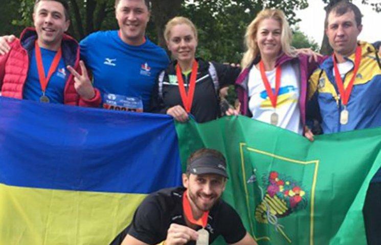 Харківські спортсмени взяли участь в Амстердамському марафоні
