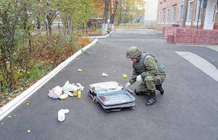 Біля станції переливання крові у Вінниці шукали вибухівку