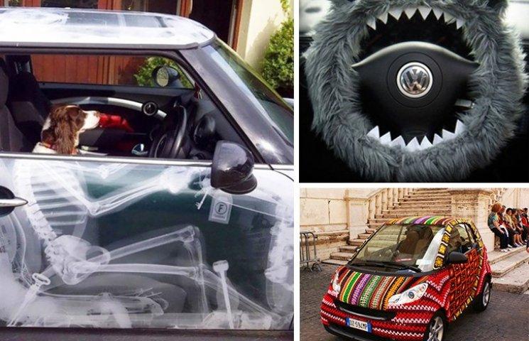 25 веселых идей, как украсить свое авто