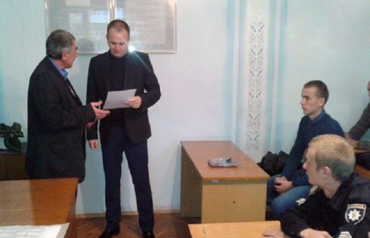 Теофіпольська поліція отримала подяку від Станиці Луганської