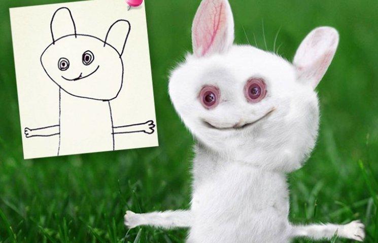 Как будут выглядеть детские рисунки, если их оживить