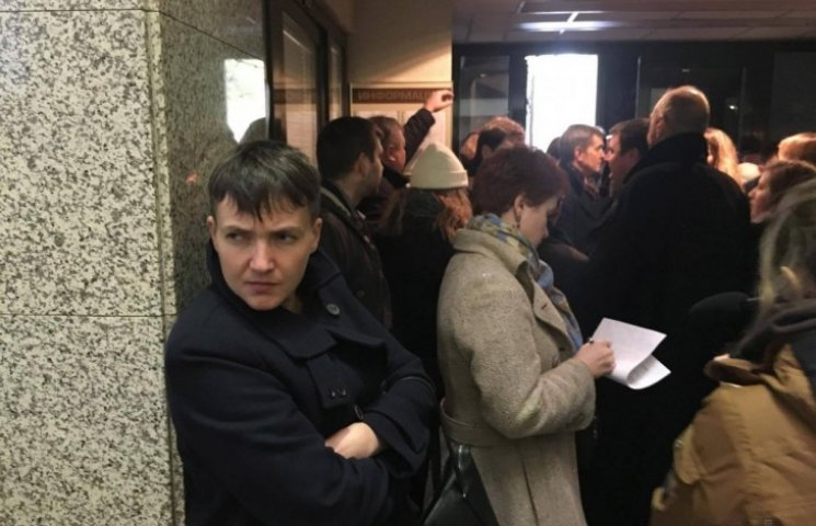 Савченко на России: А где украинские политики?