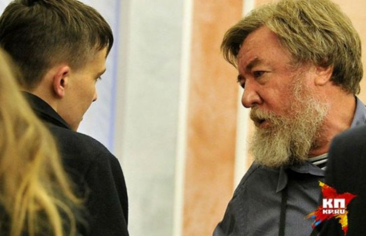 Савченко уклала парі з кремлівським журналістом