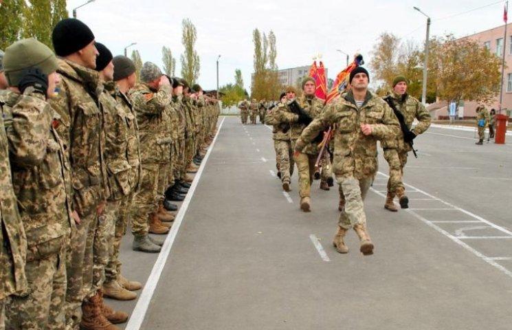 Морпехов николаевской 36 бригады торжественно отправили домой