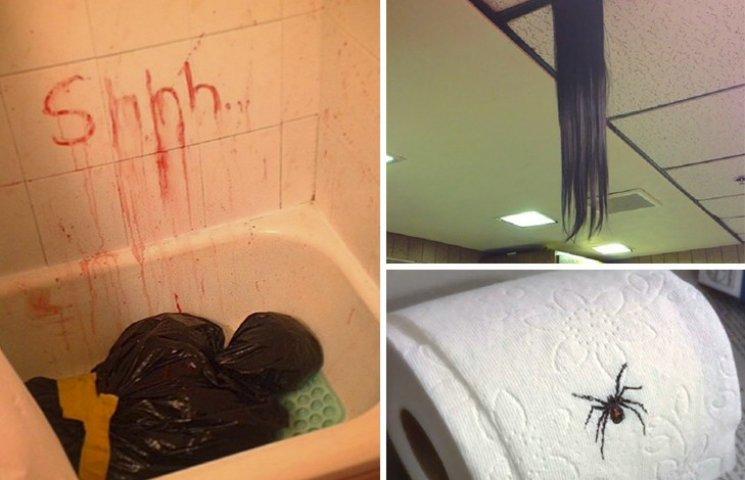 15 забавно-ужасных розыгрышей для Хеллоуина