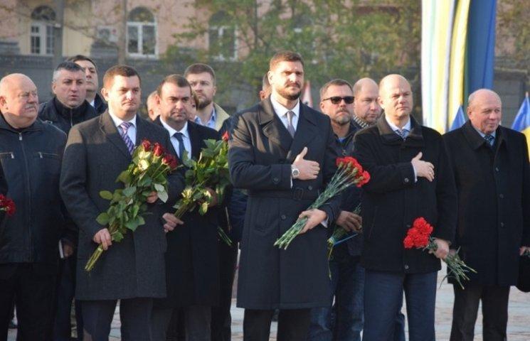 Миколаївці відзначили 72 річницю визволення України