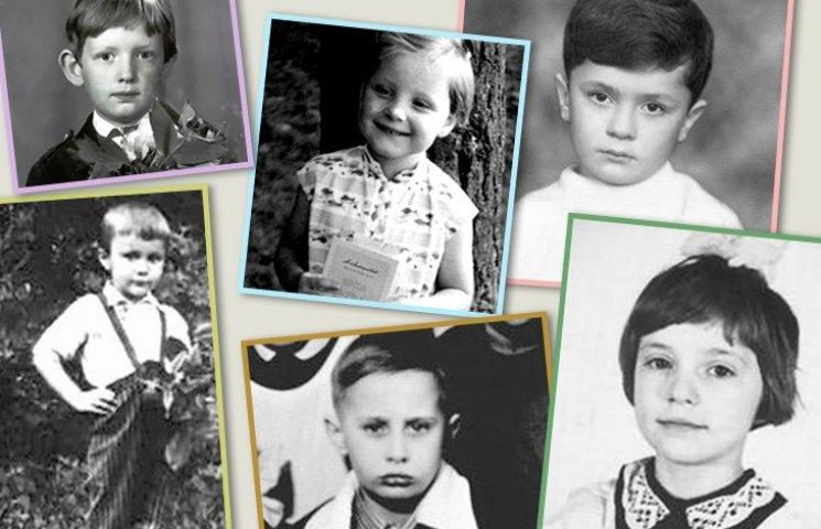 Политики в детстве: угадай кто есть кто