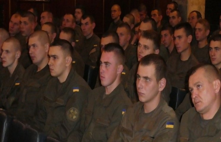 Вояки хмельницької війскової частини Нацгвардії віздначили річницю
