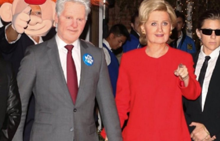 Сладкая парочка Кэтти Перри и Орландо Блум на Хеллоуин превратились во врагов