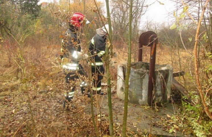 На Вінниччині чоловік упав у 15-метрову криницю без води
