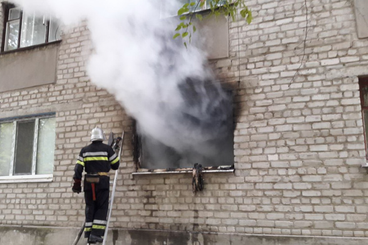 Через пожежу наХарківщині загинула 4-річна дівчинка